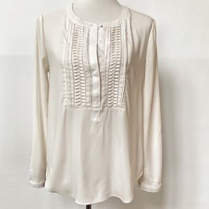 41Hawthorn Off White Popover Blouse